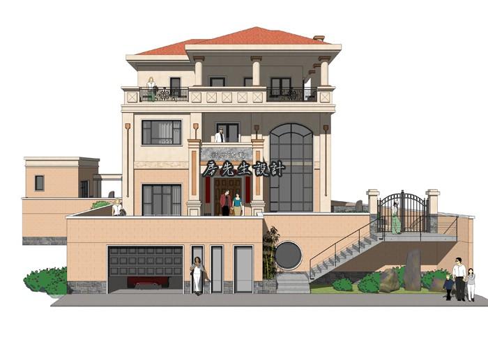 房先生别墅设计 衢州欧式风格别墅图纸设计 带地下室车库 下载次数,地下室,衢州,风格 欧式风格别墅设计案例 171720juuhfx2mrn72xufb
