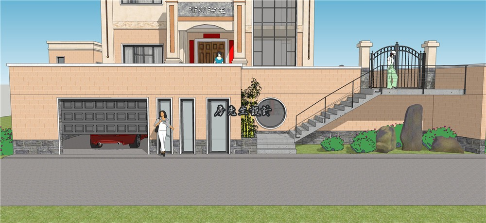房先生别墅设计 衢州欧式风格别墅图纸设计 带地下室车库 下载次数,地下室,衢州,风格 欧式风格别墅设计案例 184706yfghiplhlayawb1a